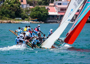 Picture 7 - Yola Racing off Sainte Anne