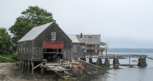 Maine Boat House, North Haven, Maine