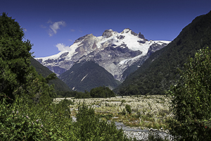 Mountain Valley in Chile