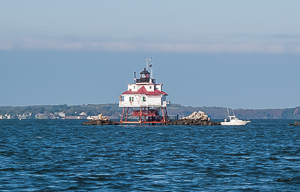 Thomas Point Light, Just off Annapolis, Maryland