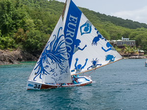 Local Sailboat Race, Deshaies, Guadeloupe