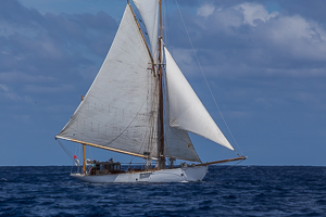Single Handed Race, Off English Harbor, Antigua