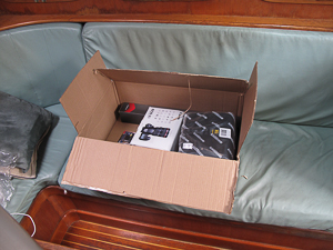 The new camera arrives. Along with some extra stuff.